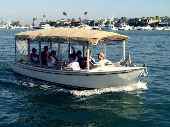 Electric Boat Rental for Two or Six Hours