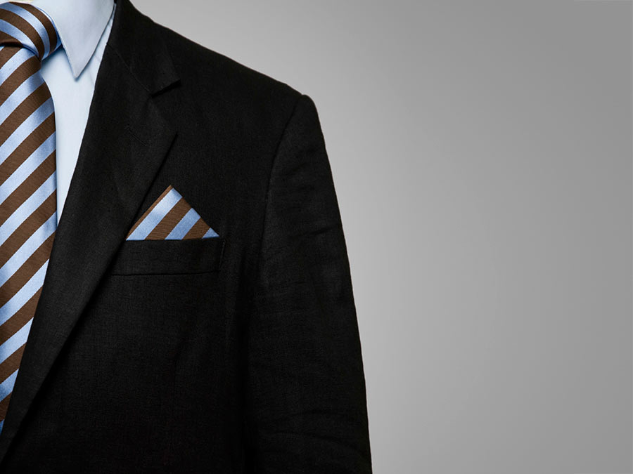 Men's Custom Tailored Suit at Cuffs & Collars