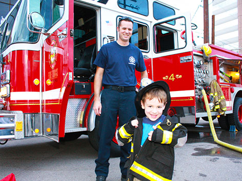 Fire House Adventure Birthday Party for up to 12 Children