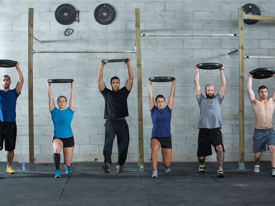 One Month of Unlimited Basic CrossFit Classes