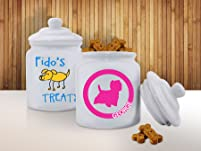 Personalized Pet Treat Jar