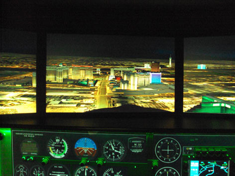 Full Motion Flight Simulator