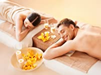 50-Minute Couple's Massage with Aromatherapy Included