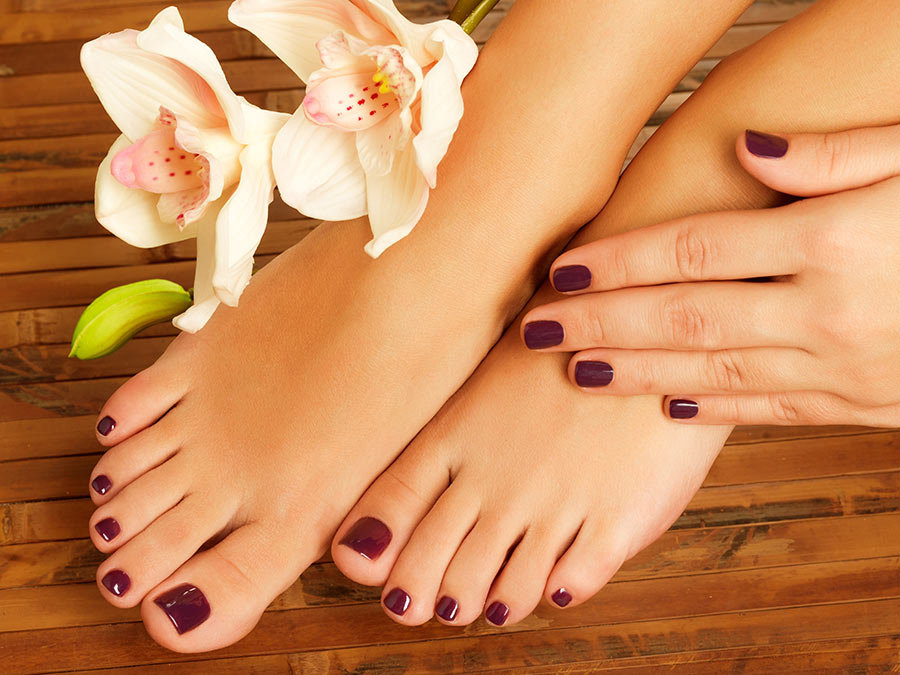 Basic or Deluxe Manicure and Pedicure