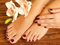 Manicure and Pedicure with Deep-Cooling Gel