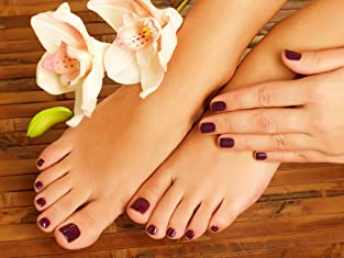 Spa Pedicure or Spa Shellac Manicure Special