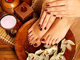 Gel Manicure and Spa Pedicure
