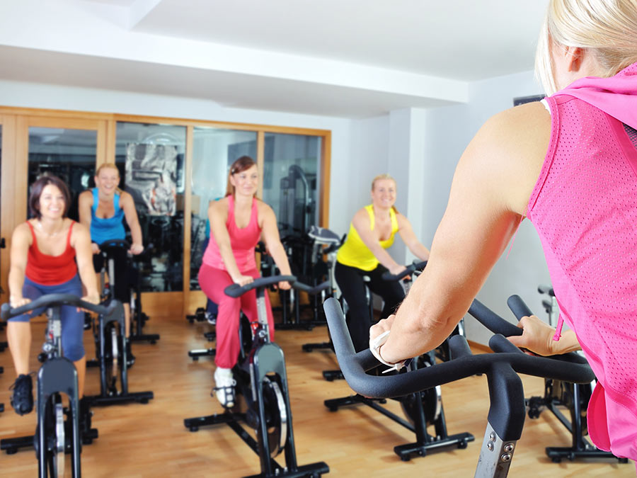 Five Spin Classes or Two Personal Training Sessions