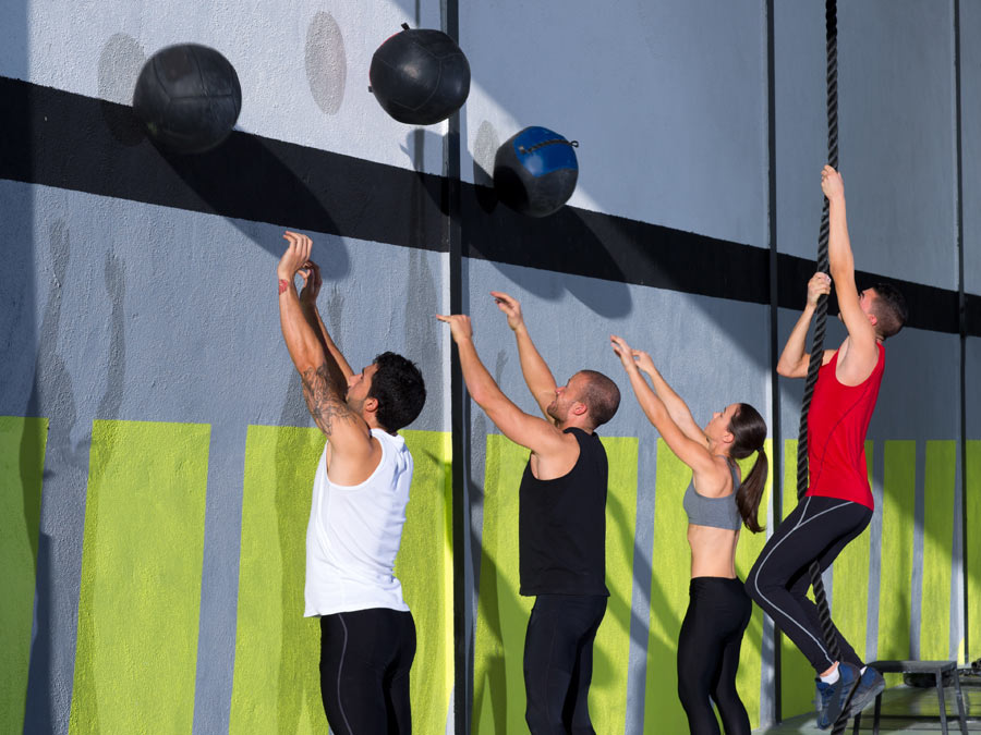 Ten CrossFit Classes