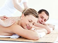 50-Minute Couple's Massage with Aromatherapy and More