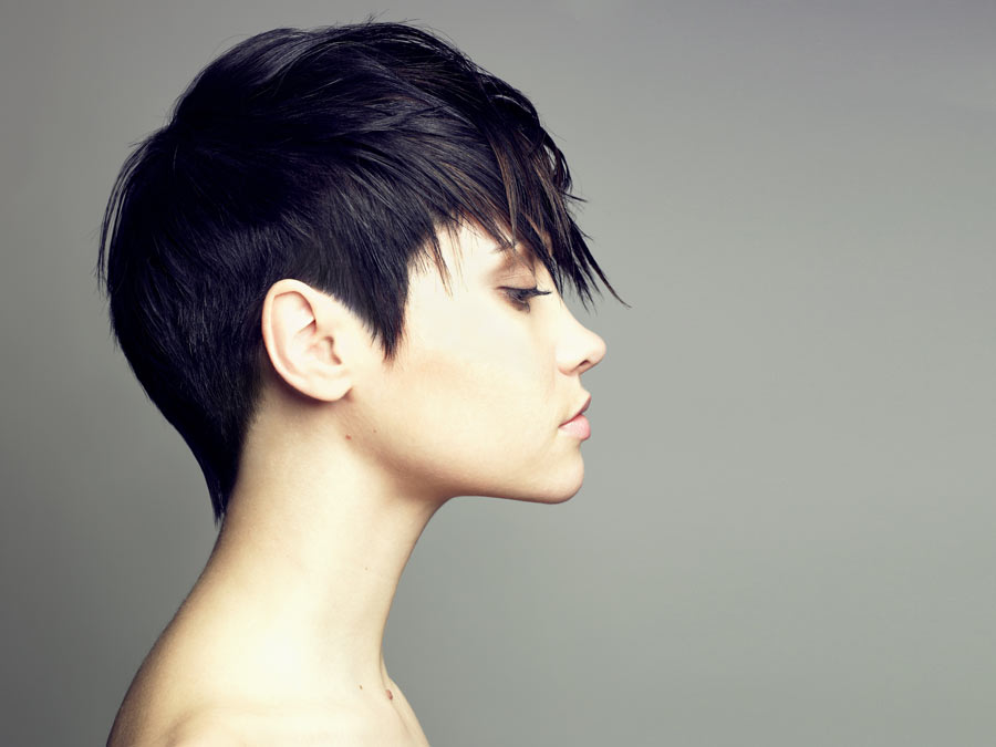 One Women's Haircut with Style and More