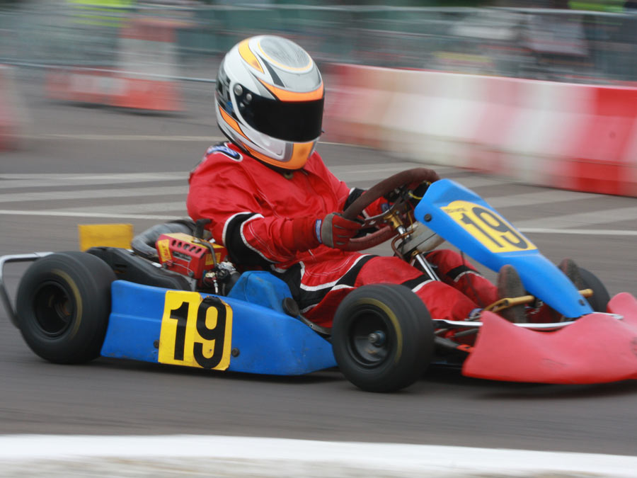Two Indoor Kart Races