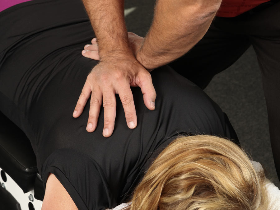 One Massage with Three Chiropractic Visits