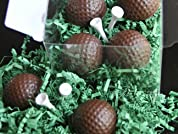 Four Bourbon Golf Ball Truffles