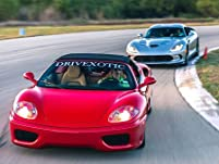 High-Performance Luxury Car Driving Experience