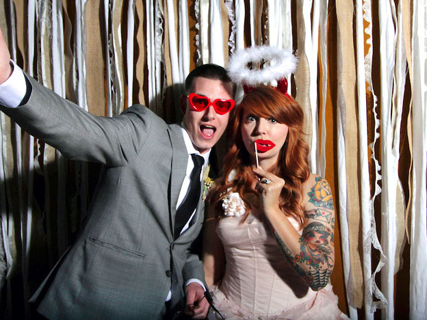 Photo Booth Rental with Downloads or Printing