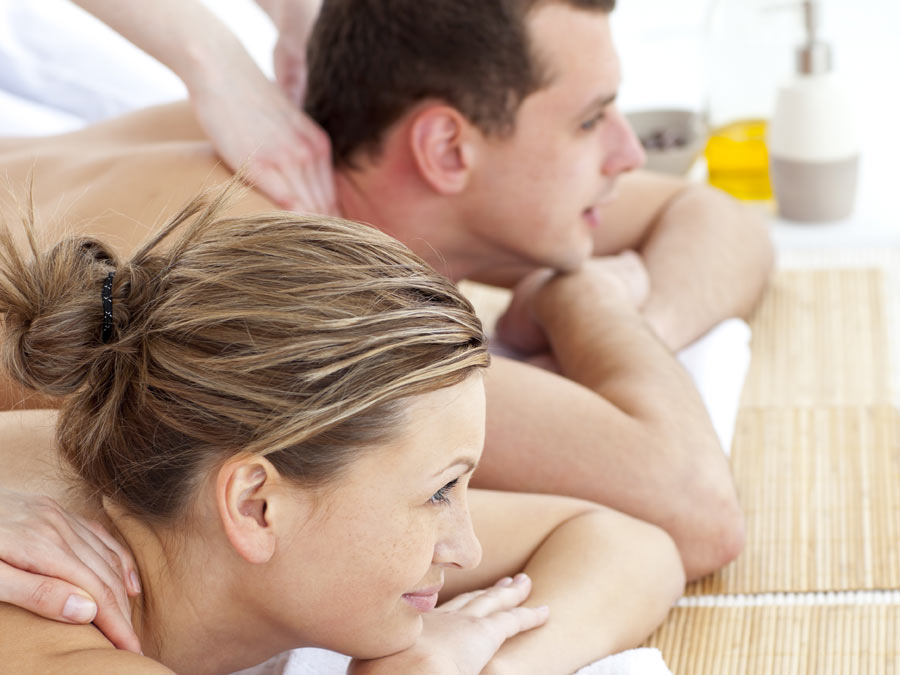 One-Hour Couple's Massage with Foot Scrub