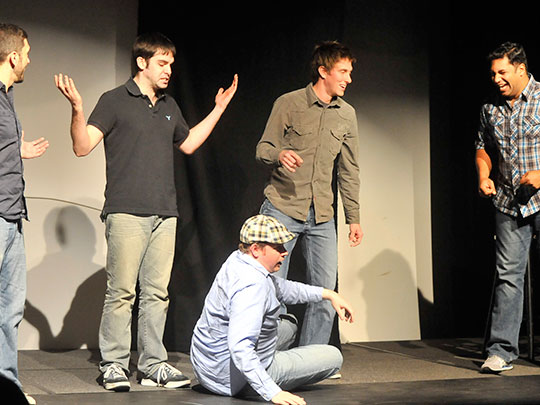 Improv Comedy Show with Beer or Wine for Two