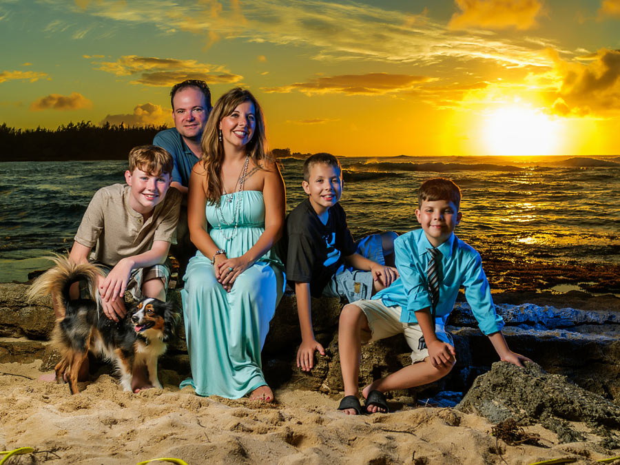 Couple's or Family Sunset Photo Shoot