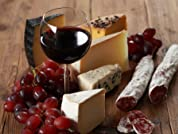 Deluxe Fine Wine and Cheese Picnic Basket