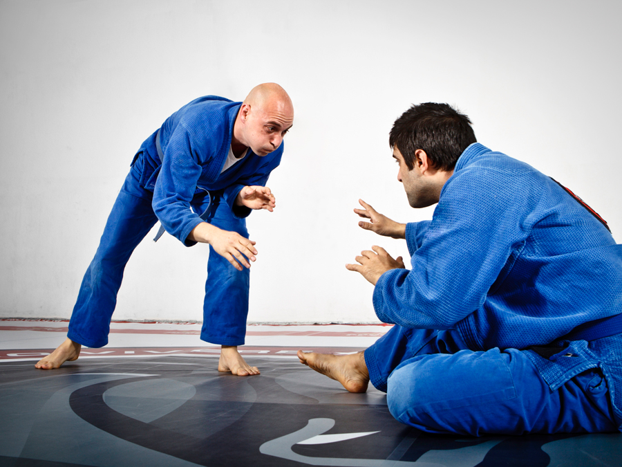 Five Jujitsu Classes