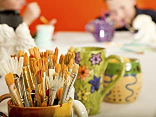 $20 or $150 to Spend on Pottery Painting or Party