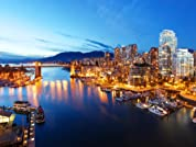 Downtown Vancouver Stay in a Suite for Two, Three, or Four Nights