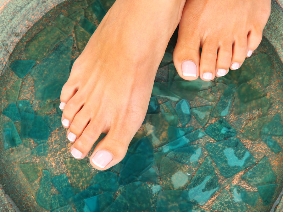 Chemical Peel for Both Feet