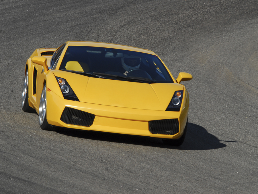 Six-Lap Exotic Car Autocross Challenge