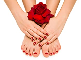 Manicure and Pedicure with Paraffin Treatment