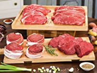 Gourmet Grass-Fed Organic Steak Samplers with Free Shipping