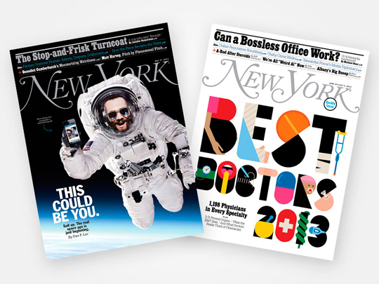 Subscription to New York Magazine