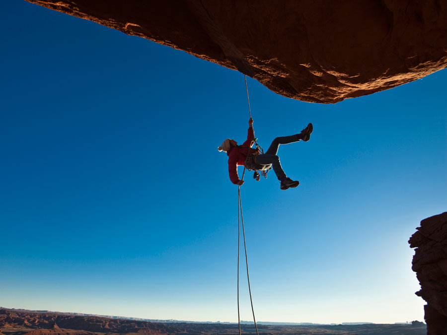 Rappelling Class/Experience or Intro to Rock Climbing