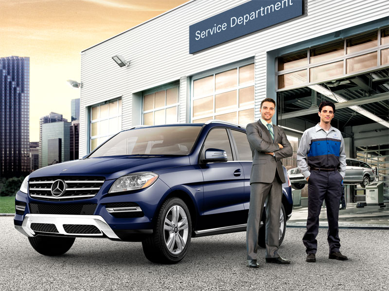 $100 to Spend on Mercedes-Benz Services