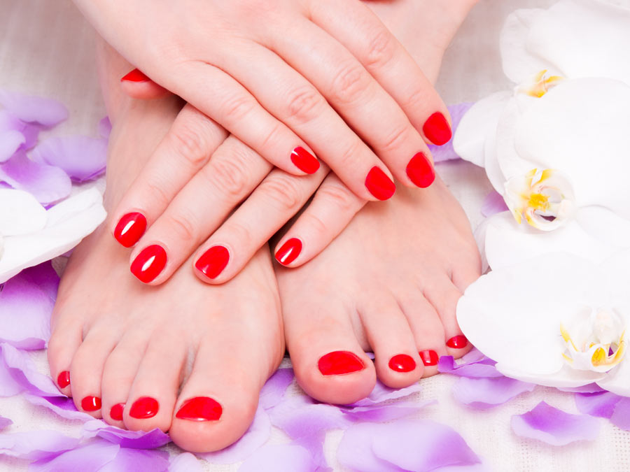 One or Three Mani/Pedis