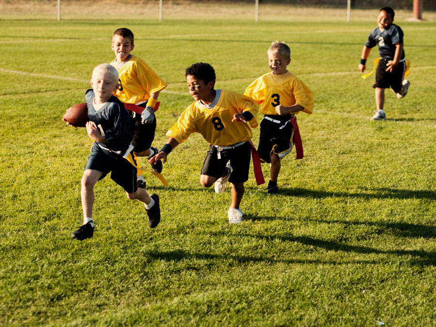 NFL-Approved Kids' Flag Football League