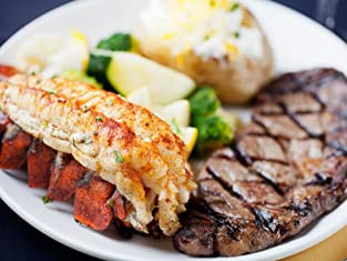 Surf and Turf Sampler from Land and Sea Market