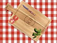 Monogrammed Bread or Carving Board & Shipping