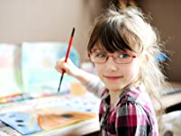 Painting Class Admission for One or Two Kids or a Family