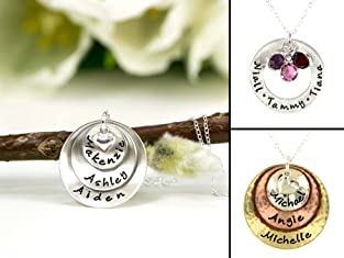 Customized Necklaces, Bracelets, and More