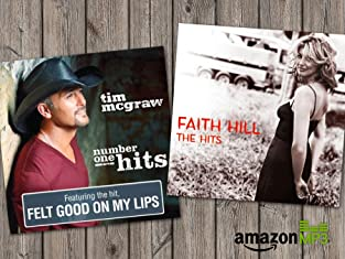 "Free Coupon to Buy Tim McGraw's ""Number One Hits"" and Faith Hill's ""The Hits"" from Amazon MP3 for $6.99 Each"