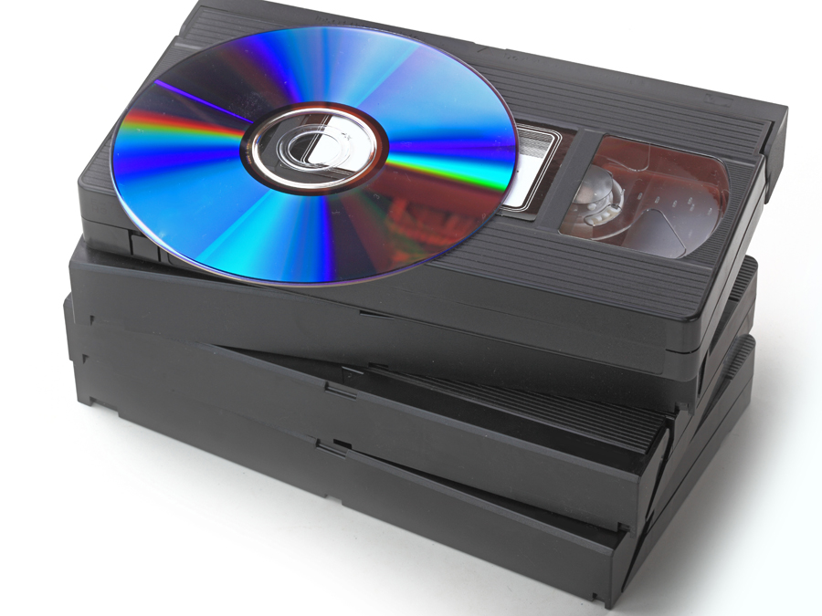 Videotapes Transferred to DVD at The Video Editor