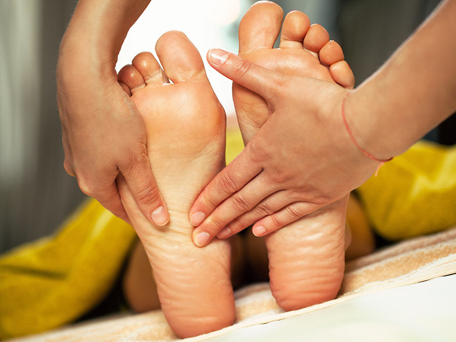 Reflexology: One or Three 60-Minute Sessions