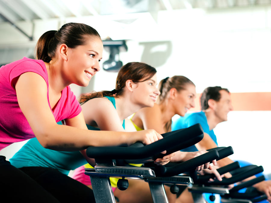 Indoor Cycling and Group Fitness Classes