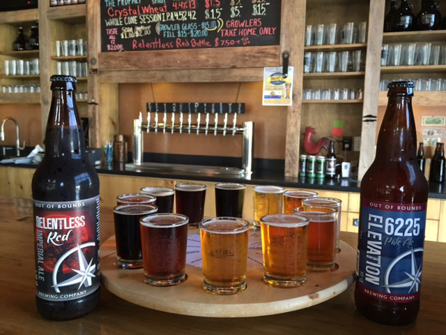 Beer Tasting or Tasting Room Rental at Out of Bounds Brewing Company