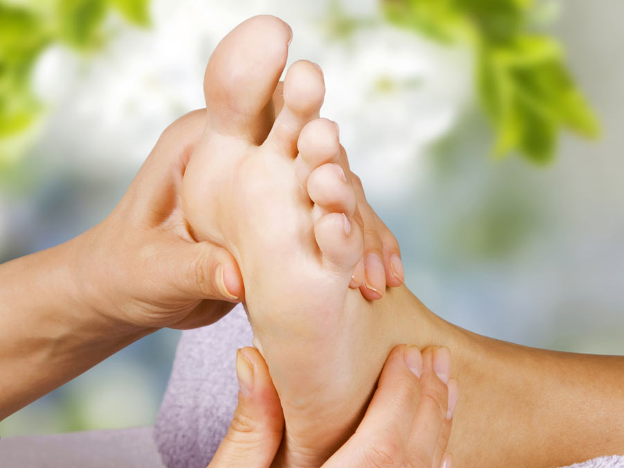 Foot Soak and Reflexology