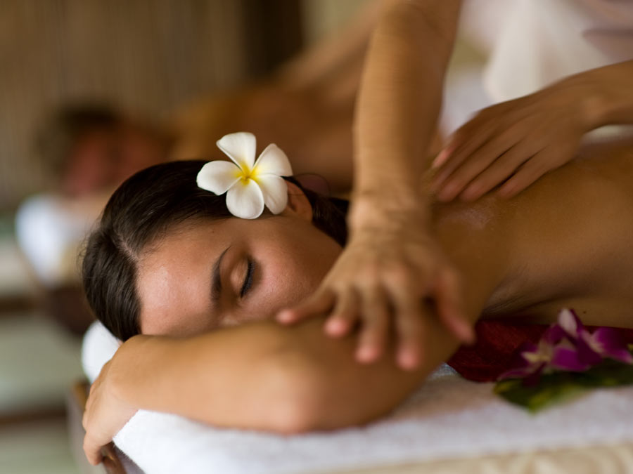Massage: Aroma or Deep-Heat Therapy