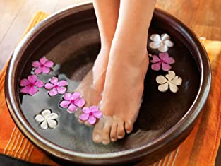 Ionic Foot Bath or Colonic Hydrotherapy