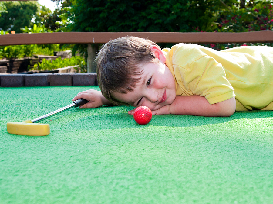 Mini Golf for Two or Four