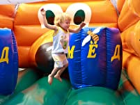 Eight-Hour Bounce House Combo Rental